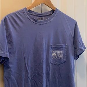 Women's southern fried cotton T-shirt size small